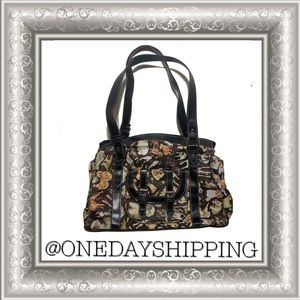 Sydney Love Large Purse with Dogs